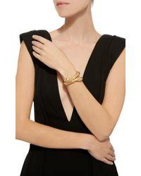Sidney Garber - Metallic Il Serpente 18k Gold Bracelet - Lyst
