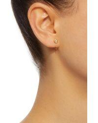 Octavia Elizabeth - Metallic 18k Gold Diamond Earrings - Lyst