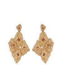 Johanna Ortiz | Metallic M'o Exclusive Floral Cluster Earrings | Lyst