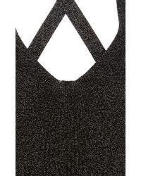 Cushnie et Ochs - Black Deep V Knit Bodysuit - Lyst