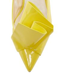 Delpozo - Yellow Origami Loafer - Lyst