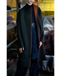 By. Bonnie Young | Blue Double Face Cashmere Coat | Lyst
