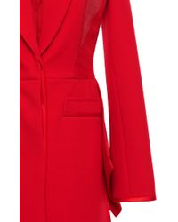 Givenchy - Double Crepe Tailored Coat - Lyst