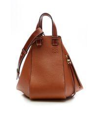 Loewe | Brown Calf Leather Hammock Bag | Lyst