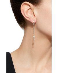 Jemma Wynne - Metallic Stick Drop Earrings - Lyst
