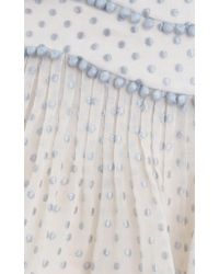 Zimmermann - Multicolor Painted Heart Contour Skirt - Lyst
