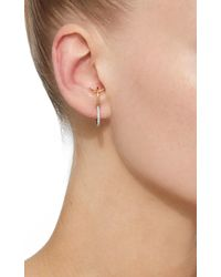 Charlotte Chesnais | White Bloom Single Earring | Lyst