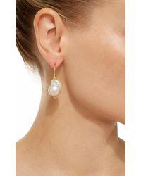 Ranjana Khan - Multicolor Small Single Pearl Earrings - Lyst