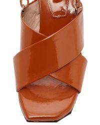 Reike Nen   Brown Criss Cross Sandal   Lyst