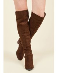 Madden Girl | Brown Can't Say Ya Didn't Stride Boot | Lyst