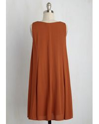 She + Sky - Brown The Princess And The Blog Dress - Lyst