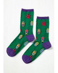 Socksmith - Green Entomology-whiz! Socks - Lyst