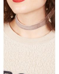 Ana Accessories Inc - Multicolor Effortless Accent Velvet Choker - Lyst