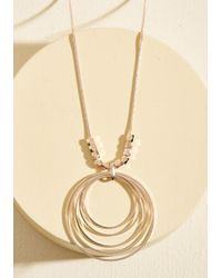 Ana Accessories Inc | Metallic Has Nice Rings To It Necklace | Lyst
