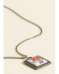 Ana Accessories Inc - Multicolor Sly King Doesn't Strike Twice Necklace - Lyst