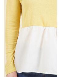 Compañía Fantástica - Multicolor Done The Bright Way Long Sleeve Top - Lyst