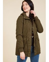 Thread & Supply | Green Outdoors Enthusiast Coat In Olive | Lyst