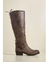 Very Volatile - Brown A Kindred Stroll Boot - Lyst