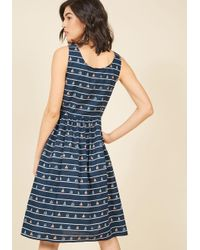 Sugarhill - Blue Mast Appeal Midi Dress - Lyst