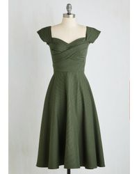 Stop Staring! | Pine All Mine Midi Dress In Evergreen | Lyst