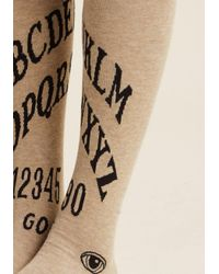 ModCloth   Natural I Get The Message Knee Socks   Lyst