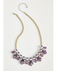 Ana Accessories Inc - Glimmer Is Coming Necklace In Purple - Lyst