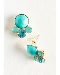 Ana Accessories Inc | Metallic All Bright With Me Earrings In Aqua | Lyst