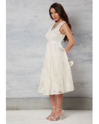 Tracy Reese - White Classic Frock in Watermelon - Lyst