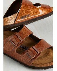 Birkenstock - Multicolor Strappy Camper Sandal In Mars Dust - Narrow - Lyst