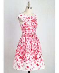Eliza J - Pink Couth Be Told Dress - Lyst