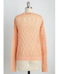 Mak | Pink Cozy In Love Sweater | Lyst