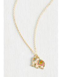 Ana Accessories Inc - Metallic Herd Up! Necklace - Lyst