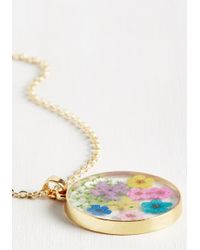 Ana Accessories Inc - Multicolor From The Blossom Of My Heart Necklace - Lyst