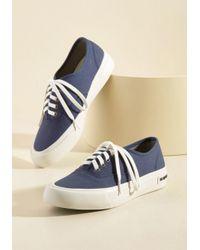Seavees | Blue Can I Kickflip It? Sneaker In Navy | Lyst