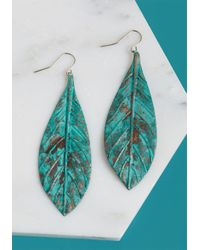 ModCloth - Multicolor Leaves Of Sass Earrings - Lyst