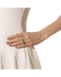 Monica Vinader | Green Baja Ring | Lyst