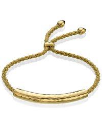 Monica Vinader | Green Esencia Friendship Bracelet | Lyst