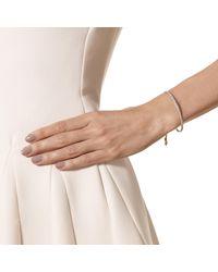 Monica Vinader | Pink Fiji Diamond Bar Bracelet | Lyst