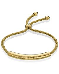 Monica Vinader - Green Esencia Friendship Bracelet - Lyst