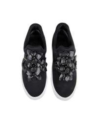 Tory Burch - Black Blossom Sneaker - Lyst