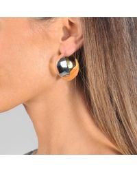 Charlotte Chesnais - Metallic Petal Earrings - Lyst