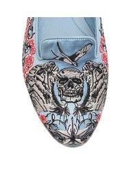 Alexander McQueen - Multicolor Skull Slipper - Lyst