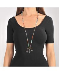 Valentino - Multicolor Santeria Beads And Charms Necklace - Lyst