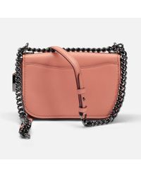 COACH - Pink Swagger 20 Shoulder Bag - Lyst