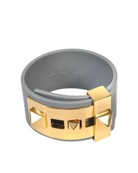 Valentino   Multicolor B Rockstud Large Bracelet   Lyst