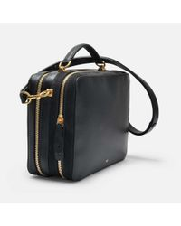 Anya Hindmarch - Black The Stack Double Satchel Bag In Circus - Lyst