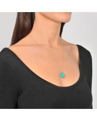 Aurelie Bidermann - Multicolor Scarab Pendant Medium Size - Lyst