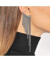 Helene Zubeldia - Multicolor Crystals Cascade Earrings - Lyst