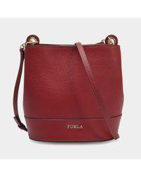 Furla - Red Dori M Crossbody Pouch - Lyst