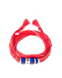 Aurelie Bidermann | Multicolor Takayama Bracelet With Lapis Lazuli | Lyst